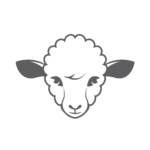 Sheeps head logo - Circle